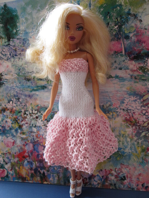 Robes bustier pour barbie