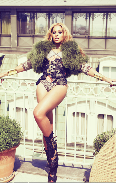 # Beyoncé's Rooftop Photo Shoot