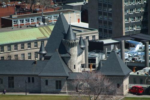 Notes voyage Québec Avril mai dernier jour Montréal Mont-Royal