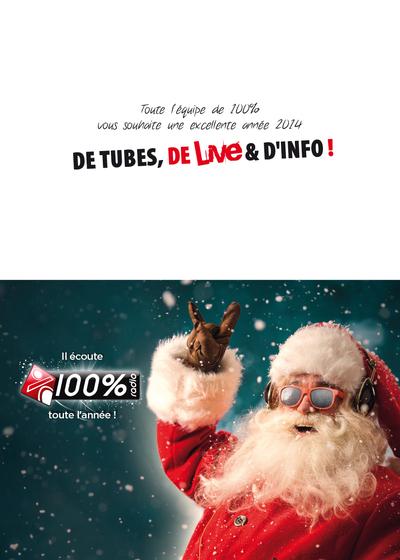 100% Radio - Voeux 2014
