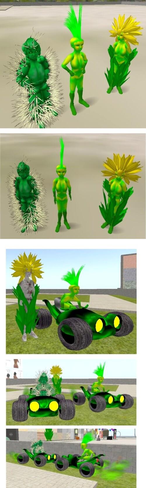 Créatures Végétales