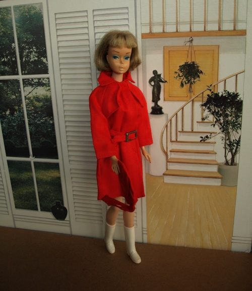 Vintage Barbie : Red for Rain