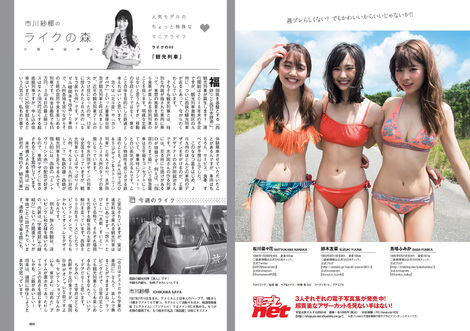 Magazine : ( [Weekly Playboy] - 2017 / n°23 )
