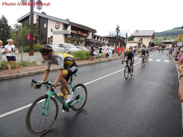 Deux étapes du Tour de France, vues par Nicole Prévost