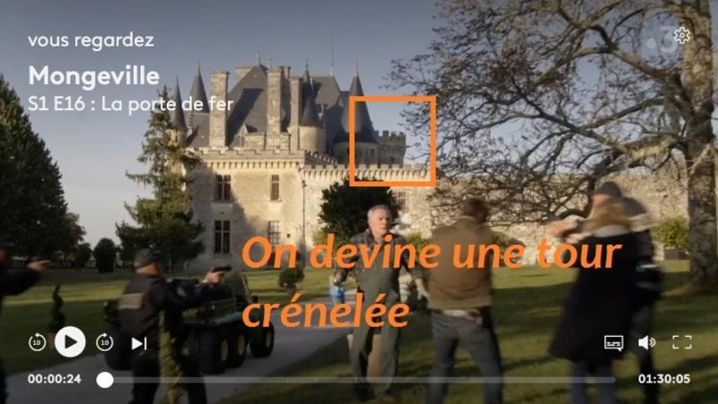 En route vers un château en Dordogne, proche Bergerac.