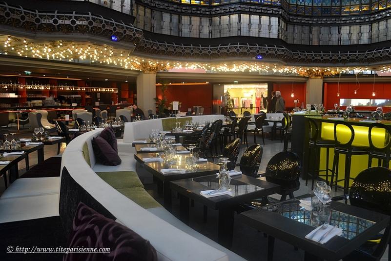La Brasserie et la Coupole du Printemps Haussmann