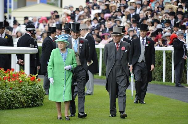 Elizabeth et Philip à Ascot, jour 5