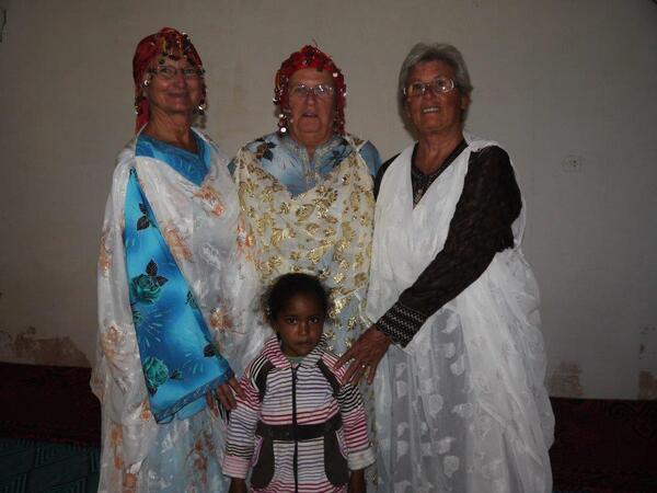 Les trois grâces....et la petite fille de cœur de Marie