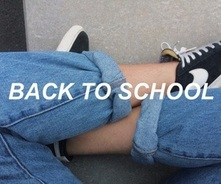 Image de school, grunge, and jeans