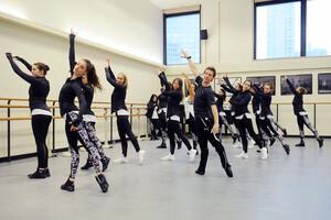 dance ballet outdooe ballet puma campaign ballet