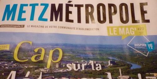 Metz Métropole le mag' hiver 2017