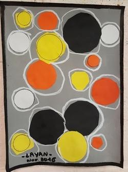 Les ronds de Sonia Delaunay de maitresse S.