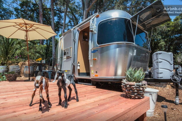 Une caravane vintage en Californie, 110 euros