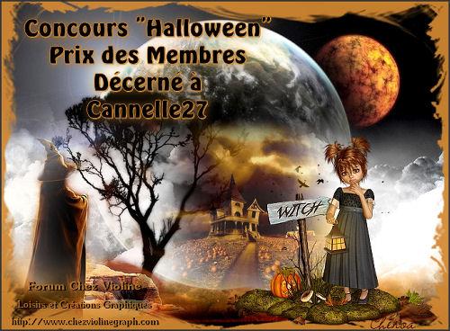 """Concours Halloween"""