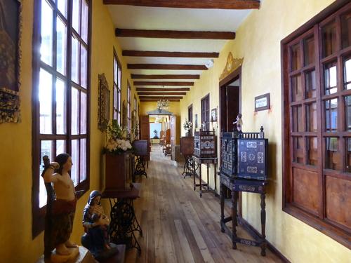 Suite de la visite de l'hôtel /Musée