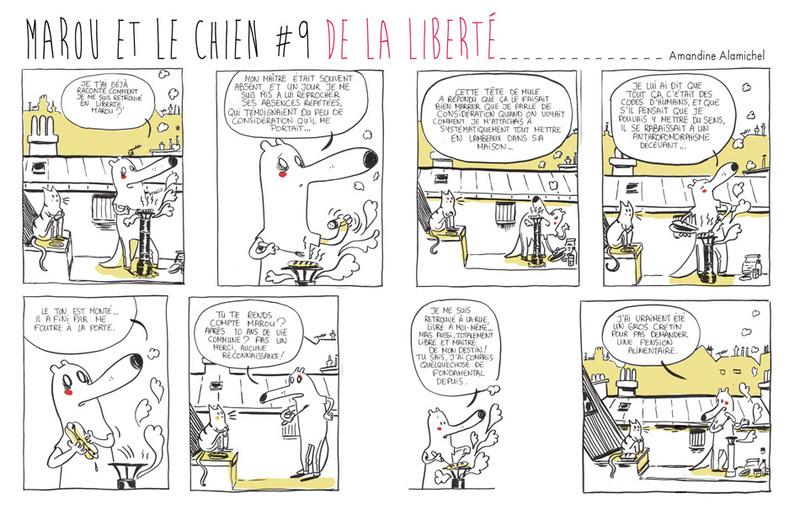 Marou et le chien #9 De la liberté
