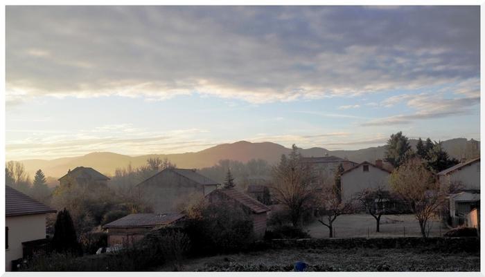 Un matin en Auvergne.