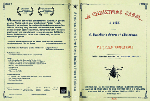 Critique de A Christmas Carol in Gore : A Butcher's Story of Christmas de Master W