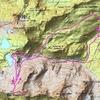 Carte itinéraire pico de las Arroyeras