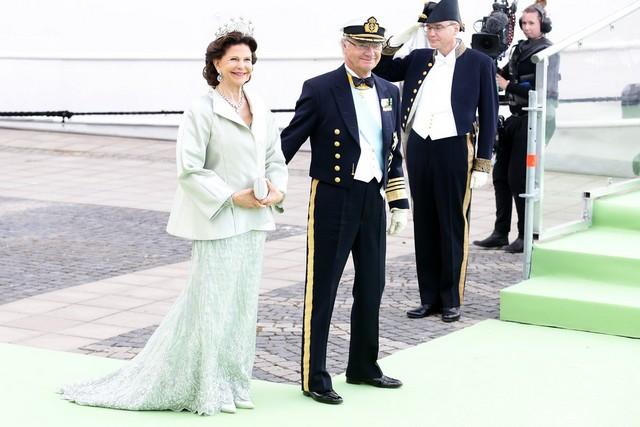 Silvia, Carl Gustav et Carl Philip
