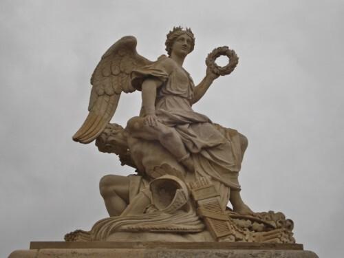 Ange victorieux Versailles