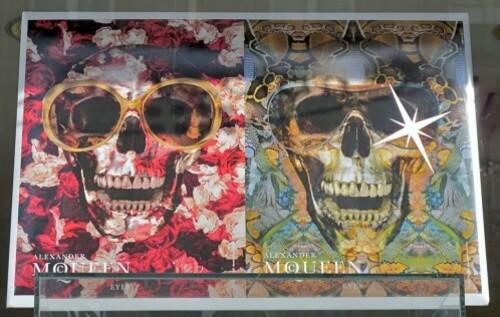 Alexander McQueen publicité lunettes crâne 2