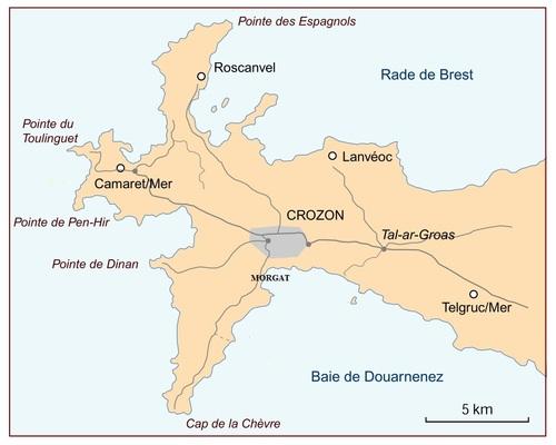 841 - Trois jours/Deux nuits à Morgat-Crozon (29)
