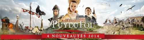 Entrée gratuite Puy du Fou 2014
