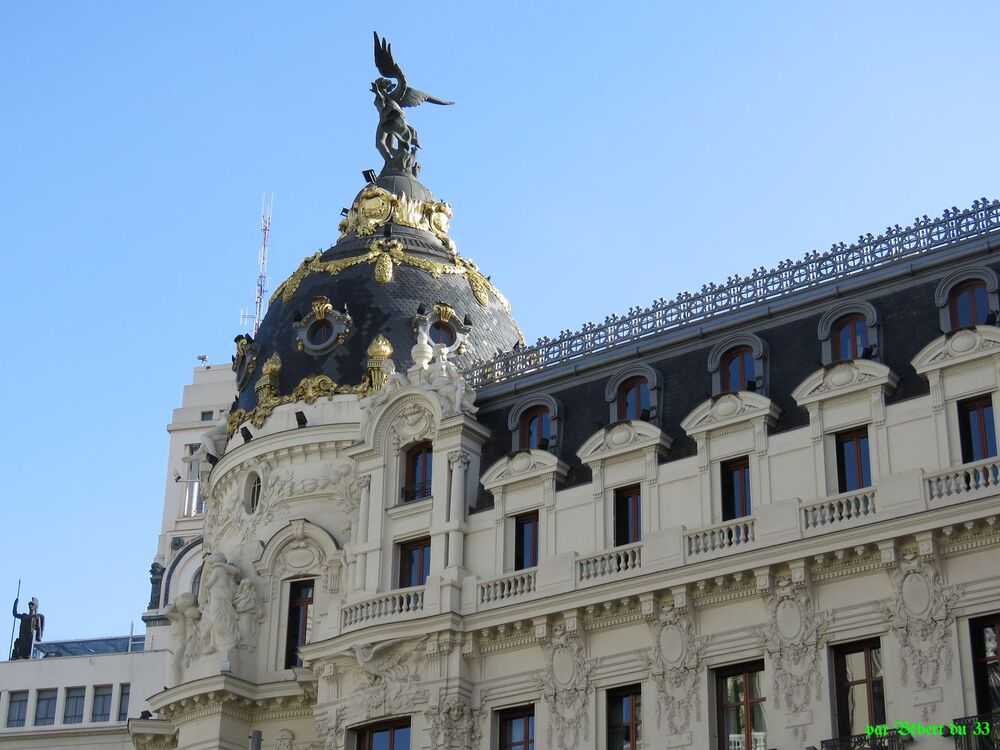 la capitale Madrid ...