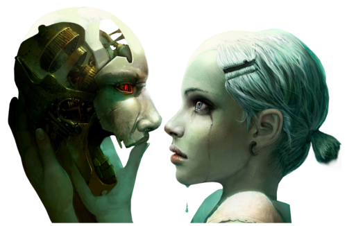 masque et femme