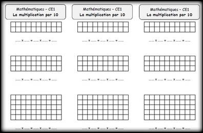 La multiplication