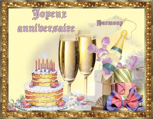 joyeux anniversaire harmony