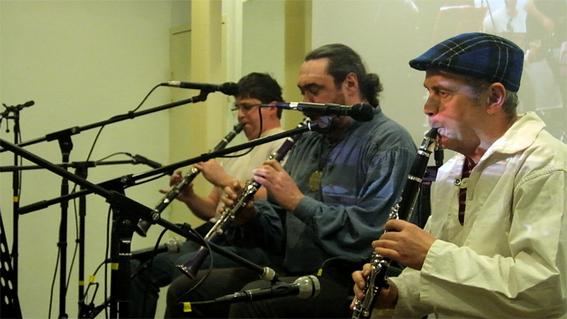 Trio de sonneurs de treujenn gaol (clarinettes)