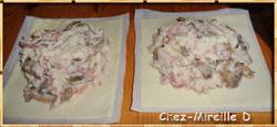 Petites Tourtes Jambon Champignons Fromage