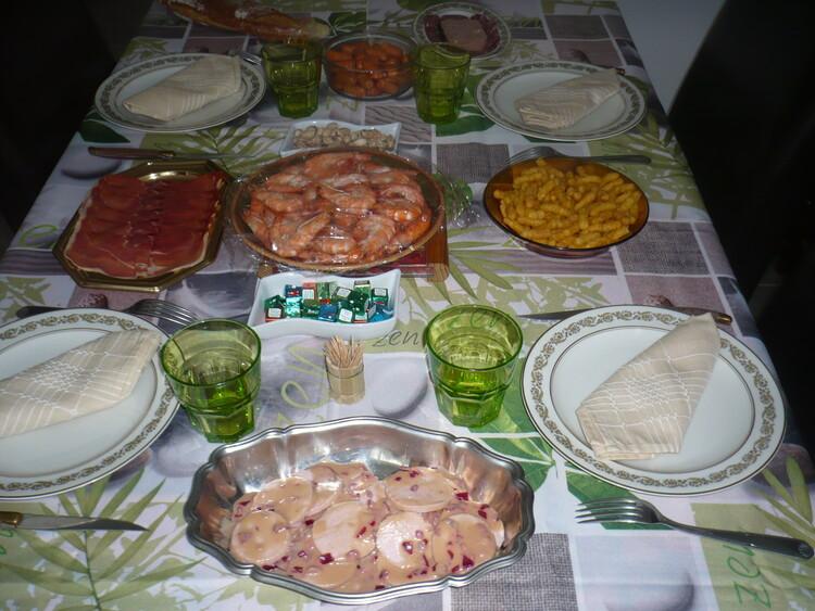 les repas du dimanche d'antan