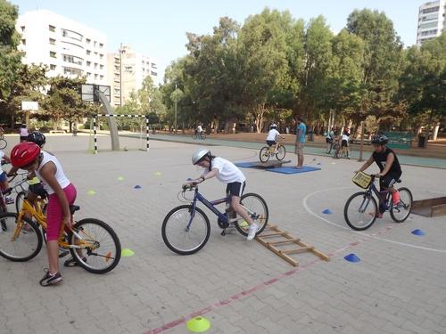 Vélo à l'école