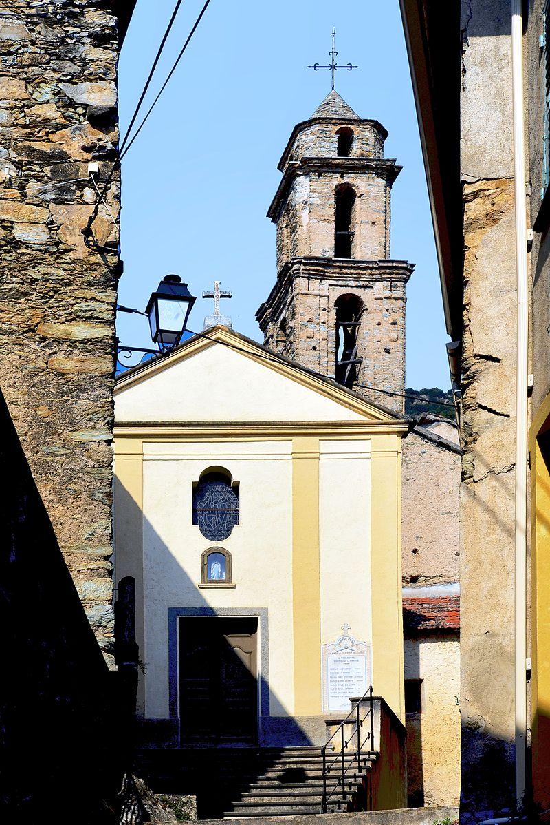 Castellare-di-Mercurio église Saint-Pierre façade principale.jpg
