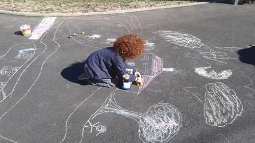 L'art dans la cour !