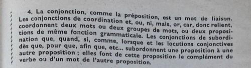 B / Les conjonctions