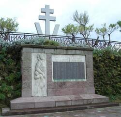 Hommage aux victimes civiles, Biarritz