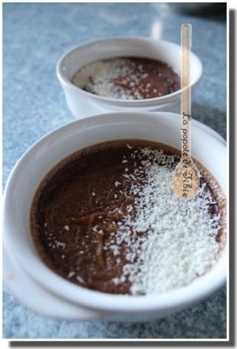 Crème catalane au cacao