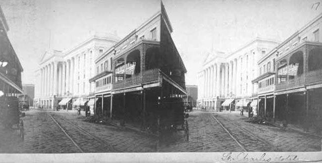 Saint Charles Hôtel. Nouvelle Orléans