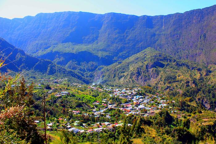 Balade Dans L'Île De La Reunion  Voie Lactée Au-Dessus De L'Ile De La Réunion..