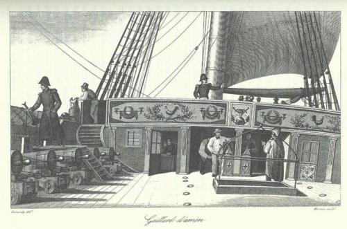 Le grand almanach de la France : Le naufrage de la Méduse