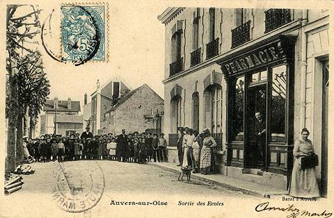 Auvers sur Oise - Cartes postales anciennes - http://auverssuroise.eklablog.fr/