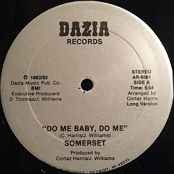 Somerset - Do Me Baby, Do Me