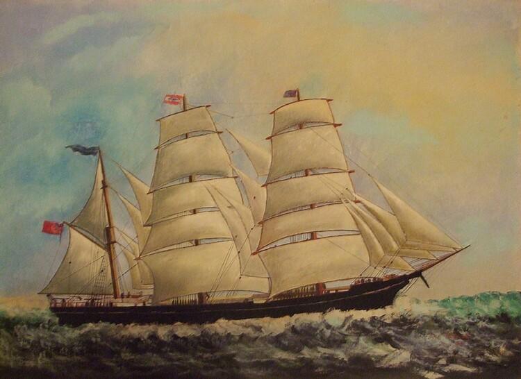 Le voilier blanc