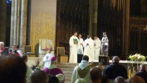 Hommage du Maire de Metz à la sainte Vierge (15 août 2010)
