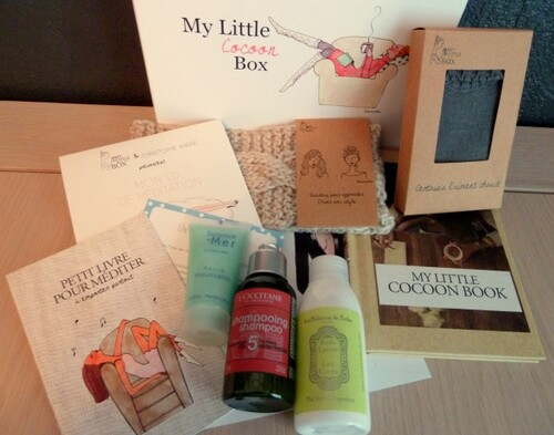 My Little Cocoon Box de Novembre - SPOILER