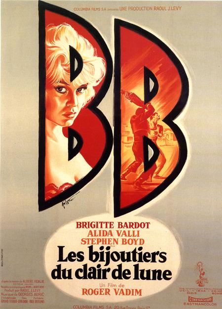LES BIJOUTIERS DU CLAIR DE LUNE - BOX OFFICE BRIGITTE BARDOT 1958